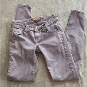 Zara Gray Slim Fit Skinny Leg Jeans